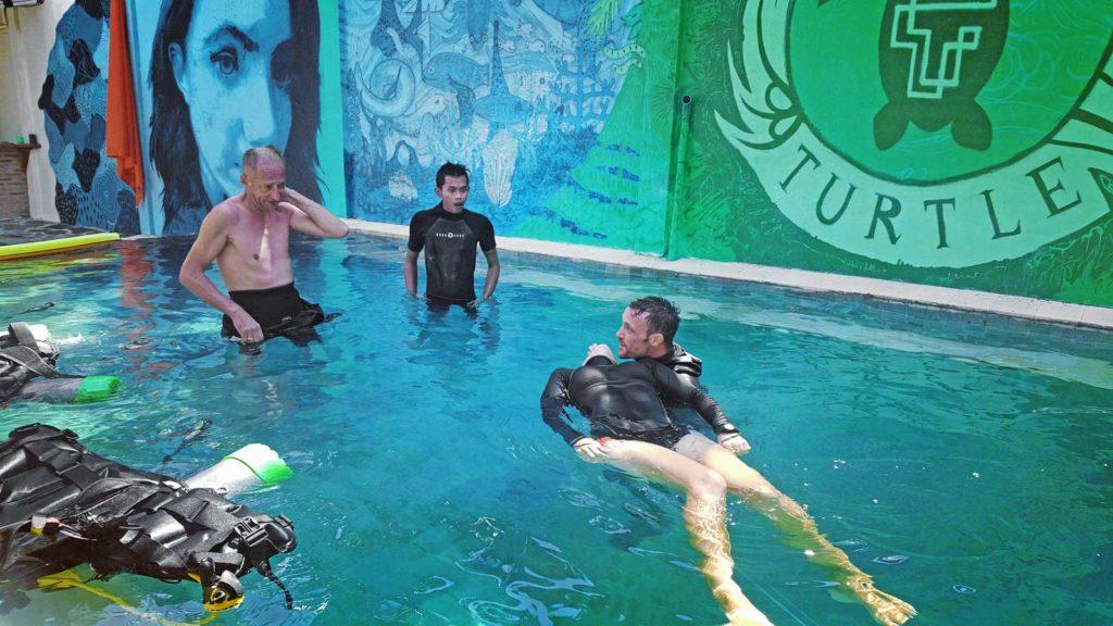 Rescue Course Next Level Scuba Gili Air
